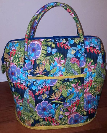 Viewer's Choice Accessory, Poppins Bag, by Teri Roberts